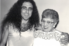 Gerry et sa mère Charlotte